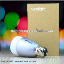 night club color changing LED smart light , music light