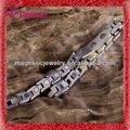 316l acero inoxidable aeneous hechos a mano de diseño propio brazalete chapado en oro modelos