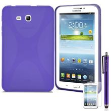 X style Slim TPU Gel Rubber Soft Skin Case Cover for Samsung Galaxy Tab 3 Lite 7.0 T110 / T111