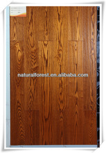 Luxury charming royal handscraped ash wood flooring