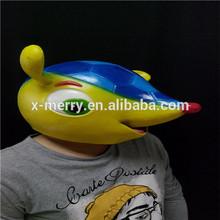 X-MERRY Latex Head Mask Creepy Animal Halloween Costume Theater Prop Novelty Latex Animal Funny Mask