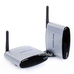 2.4G Wireless Audio Video AV Transmitter Sender Receiver TV 150M IR Remote 2.4GHz for DVD, DVR, CCD camera, IPTV, Satellite