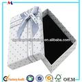 compacto de jóias caixa de presente papel do fornecedor na china