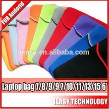 "neoprene case for ipad mini Custom Made Waterproof Neoprene Tablet/Laptop Bag 7""/8""/9""/10.1""/13""/15.6""/17.3"""