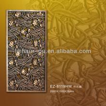 Carving decorative panels for walls/ pu wall decorat