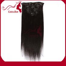 Carina Hair Products 2014 Top Seller Brazilian Virgin Human Hair Natural Unprocessed Hair Flower Clip Claw