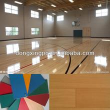 Best Pvc Floorcovering Pl Tile , Pvc Basketball Sports Flooring
