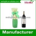 fancy mosaïque couvrir bouteille de vin cadeau sacs