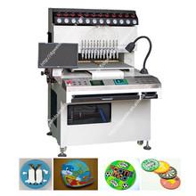 High precision automatic pvc label key chain injection moulding machine