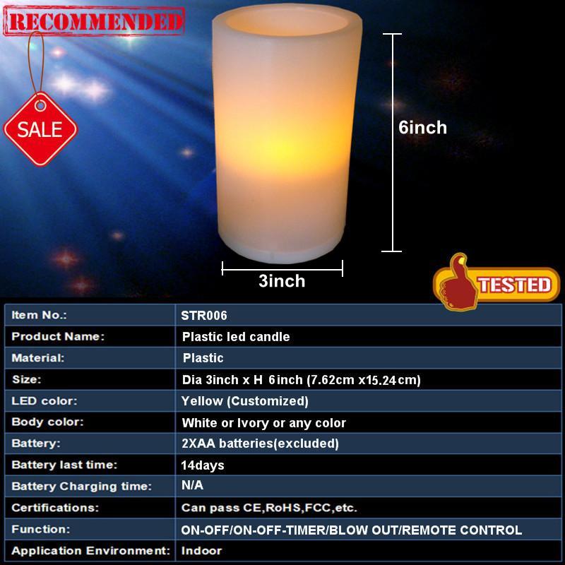 hot sale plastic led pillar candle 3x6, View pillar candles 3x6 ...