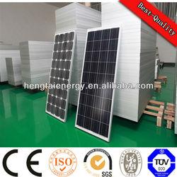 monocrystalline photovoltaic cell solar panels 250 watt for solar lighting system