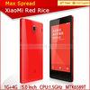 100% latest original XiaoMi Red Rice 1.5Ghz quad core-CPU 4.7 inch low cost cellphone