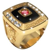 Martial Arts Grand Master Championship Ring