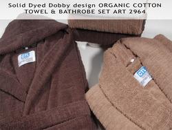 Organic Cotton Towel & Bathrobe Set 2964