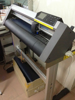 PU PVC flock giltter cutting plotter graphtec CE5000-60 cutting plotter machine for sale