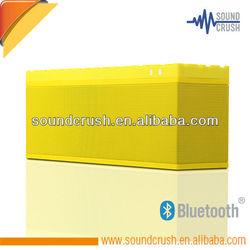 Fashion big power bluetooth speaker ,handsfree professional car audio with dual speaker