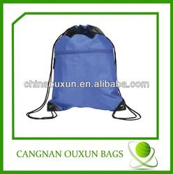 2014 hot favorite fold up polyester drawstring bag