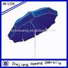 blue beach umbrellas printing promotional beach umbrella