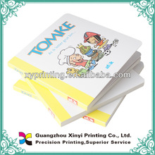 Text pop up printing children board book