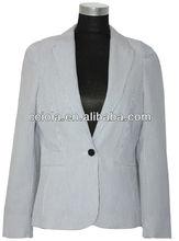 blazer jacket with printed fabric