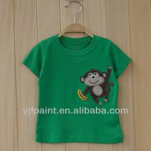 lovely monkey baby boy T-shirt baby T-shirt for short sleeve