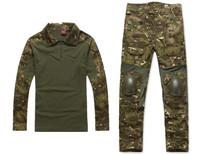 Gen2 Combat BDU Shirt & Pants & pads Combat Army Uniform Multicam