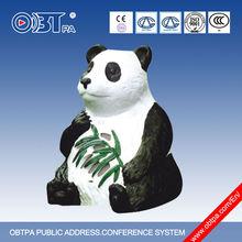 OBT Public Address waterproof Outdoor Panda Shaped Landscape Garden Speakers OBT-1804A