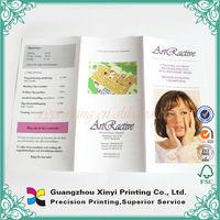 Custom Printing A6 Restaurant Promotional Samples Leaflet