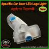 wireless led door courtesy light with car logo/Ghost shadow logo light car parts