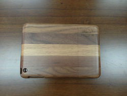 High quality Natural real bamboo wood case for ipad mini
