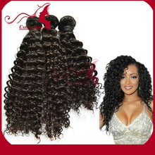 Carina Hair Products Jerry Curl Grade AAAAA Excellent Feedback Finest 100% Virgin Malaysian Curly Hair Weft