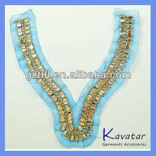 Boutique neck garment accessories for ladies neckline