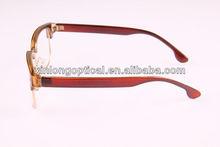 Half eyewear frame glasses style science glasses