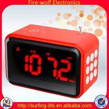 FM Travel Alarm Clock With Led Backlight Wholesaler
