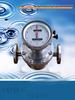 Petroleum oil diesel or gasoline liquids OVAL GEAR FLOW METER