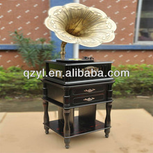 2014 new retro high quality popular decoration antique gramophones