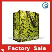 The most promotional custom bopp laminated pp woven bag/bopp woven bag