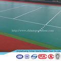 Multi espaço esporte de basquete/quadra de tênis/vôlei piso de pvc