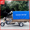 Three wheel cargo and passenger tricycles with canvas from guangzhou to dubai