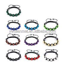 2014 dianmei fashion colors meaning Shambhala bracelet ,Cheap Shambhala bracelet