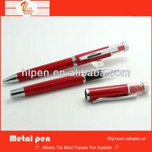 business gift metal pen with nice design low price pen gun