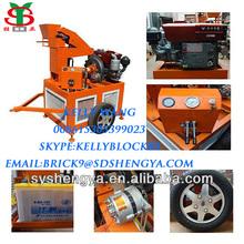 SY1-20 soil cement or clay interlocking block machine in Kenya