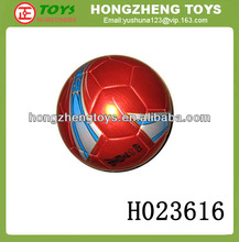 Wholesale football newest football ball with metallic nappa soccer ball sport toy Chenghai football factory H023616