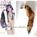 Foxtail plug anal, mais barato do brinquedo do sexo para adultos do jogo, cauda de raposa plug anal