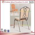 silla de metal diseño de eventos para la fiesta de boda