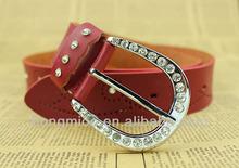 el diseño superior de diamantes de imitación de moda vaquera para cinturón de los pantalones vaqueros