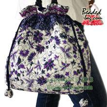 Beaded Drawstring Designer Kimono Bag