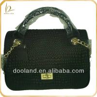 Good price women fashion ladies genuine leather handbag