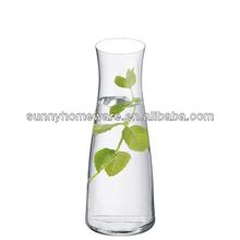 single wall glass water pitcher
