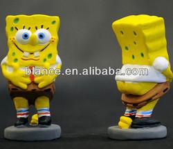 cheaper SpongeBob figurine in funny design